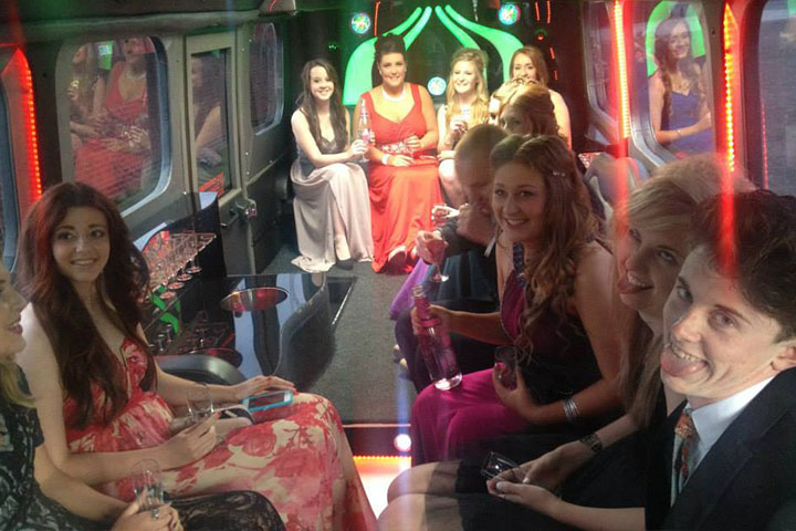 Birthday Party Limo Bus