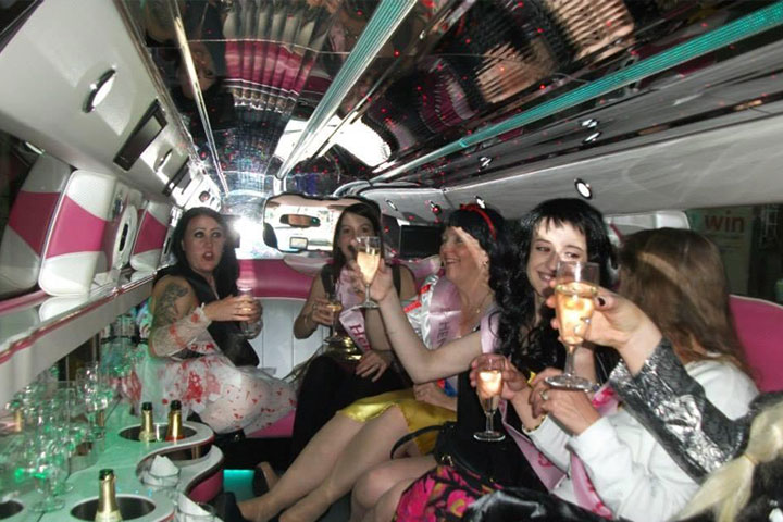 Night Out Party Limo Bus